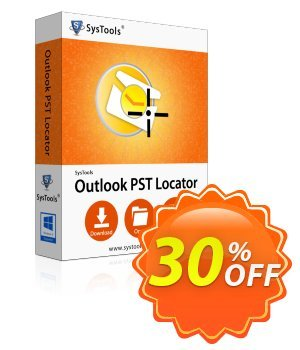 SysTools Outlook PST Locator discount coupon SysTools Summer Sale -