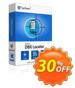 DBX Locator - Personal License Coupon, discount SysTools coupon 36906. Promotion:
