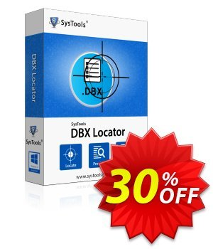 SysTools DBX Locator discount coupon SysTools Summer Sale -