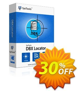 SysTools DBX Locator (Enterprise License) discount coupon SysTools coupon 36906 -
