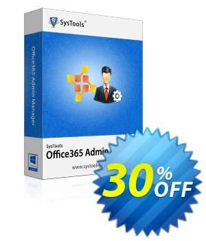 SysTools Office365 Admin Manager 프로모션 코드 SysTools coupon 36906 프로모션: