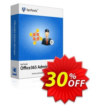 Office365 Admin Manager - Personal License Coupon, discount SysTools coupon 36906. Promotion: