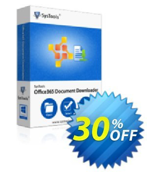 Office365 Document Downloader - 25 to 50 Users License Coupon, discount SysTools coupon 36906. Promotion: