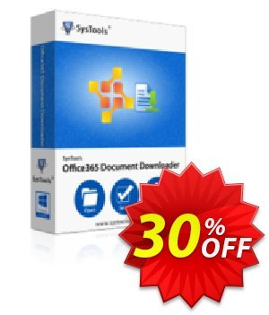 SysTools Office 365 Document Downloader (50 Users) 프로모션 코드 SysTools coupon 36906 프로모션: