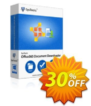 Office365 Document Downloader - 200 to 500 Users License Coupon, discount SysTools coupon 36906. Promotion: