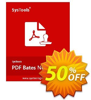 SysTools PDF Bates Numberer Coupon, discount SysTools Summer Sale. Promotion: