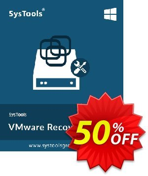 VMware Recovery - Business License Coupon, discount SysTools coupon 36906. Promotion: