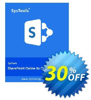 SysTools SharePoint Online to SharePoint Online Migration Coupon, discount SysTools coupon 36906. Promotion: