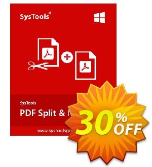 SysTools PDF Split & Merge Coupon, discount SysTools coupon 36906. Promotion: