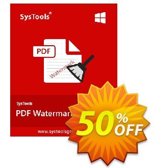 SysTools PDF Watermark Remover (Enterprise) Coupon discount SysTools coupon 36906 -