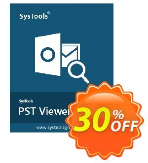 SysTools Outlook PST Viewer Pro (10 Users) Coupon, discount SysTools coupon 36906. Promotion: