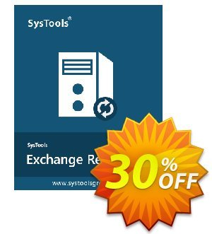 Exchange Recovery - Enterprise License Coupon, discount SysTools coupon 36906. Promotion: SysTools promotion codes 36906