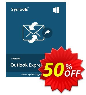 Outlook Express Restore - Personal License Coupon, discount SysTools coupon 36906. Promotion:
