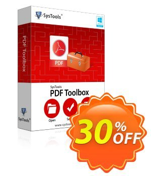 PDF Toolbox - Enterprise License Coupon, discount SysTools coupon 36906. Promotion: