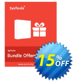 Bundle Offer - PDF Watermark + PDF Unlocker + PDF Recovery [Personal License] Coupon, discount SysTools coupon 36906. Promotion: