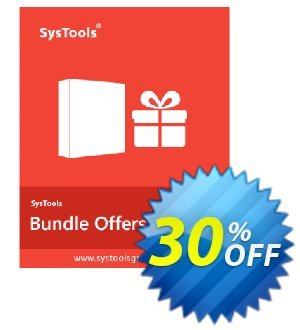 Bundle Offer - Google Apps Backup + AOL + Yahoo + Hotmail Backup - 500 Users License Coupon discount SysTools coupon 36906. Promotion: