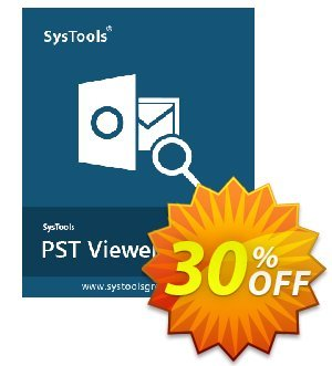 SysTools PST File Viewer Pro Plus Coupon, discount SysTools coupon 36906. Promotion: