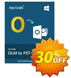SysTools Outlook Mac OLM Recovery 優惠券,折扣碼 SysTools coupon 36906,促銷代碼: