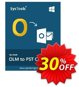 Outlook Mac Recovery - Business License Coupon, discount SysTools coupon 36906. Promotion: