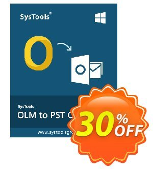 SysTools OLM to PST Converter discount coupon SysTools coupon 36906 -