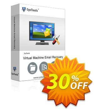 Virtual Machine Email Recovery - Admin License Coupon, discount SysTools coupon 36906. Promotion: