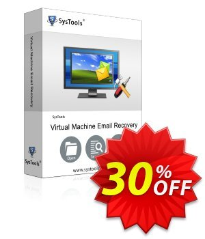 SysTools Virtual Machine Email Recovery (Enterprise) 프로모션 코드 SysTools coupon 36906 프로모션: