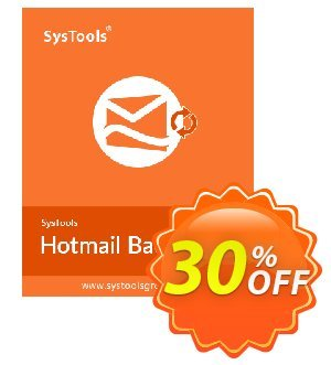 Systools Hotmail Backup Coupon, discount SysTools Hotmail Backup amazing deals code 2020. Promotion: