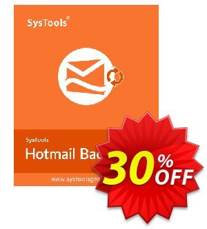 Systools Hotmail Backup (10 Users) 프로모션 코드 SysTools coupon 36906 프로모션: