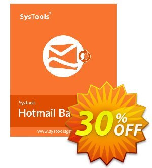 Systools Hotmail Backup (25 Users) Coupon discount SysTools coupon 36906. Promotion: