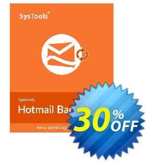 Systools Hotmail Backup (100+ Users) 優惠券,折扣碼 SysTools coupon 36906,促銷代碼: