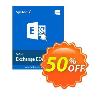 Exchange EDB Viewer Pro - Single User Coupon, discount SysTools coupon 36906. Promotion: