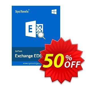 SysTools Exchange EDB Viewer - 25 Users discount coupon SysTools Summer Sale -