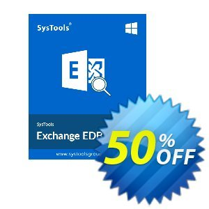 SysTools Exchange EDB Viewer - 100 Users discount coupon SysTools Summer Sale -