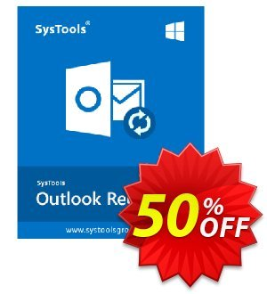 MS Outlook Recovery (outlookemails.net) - Personal License Coupon, discount SysTools coupon 36906. Promotion: SysTools promotion codes 36906