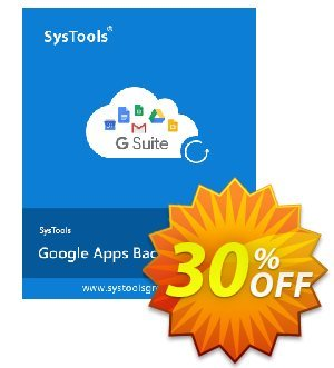 Google Apps Backup (mailbakup.com) - 5 Users License Coupon, discount SysTools coupon 36906. Promotion: SysTools promotion codes 36906