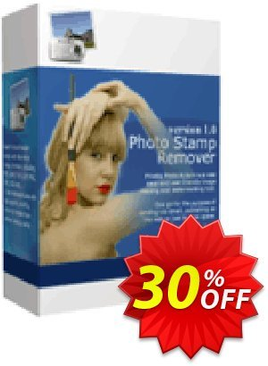 Photo Stamp Remover offering sales 30% Discount. Promotion: