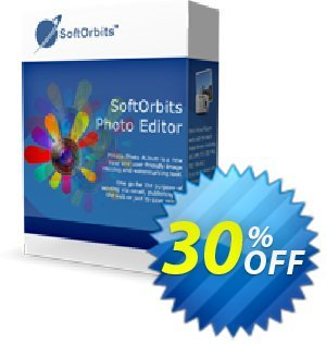 Simple Photo Editor Coupon, discount SoftOrbits 30% discount. Promotion: