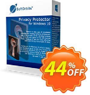 Privacy Protector for Windows 10 Coupon discount 30% Discount. Promotion: