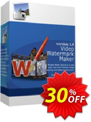 Video Watermark Maker - Business License 優惠券,折扣碼 30% Discount,促銷代碼: stirring promo code of Video Watermark Maker - Business License 2019