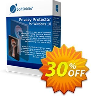 Privacy Protector for Windows 10 - Business License 優惠券,折扣碼 30% Discount,促銷代碼: dreaded deals code of Privacy Protector for Windows 10 - Business License 2020