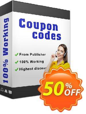 Amacsoft PDF Password Cracker Coupon discount 50% off. Promotion: