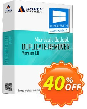 Get Amrev Outlook Duplicate Remover 40% OFF coupon code