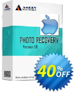 Amrev Photo Recovery Software (for MAC) Coupon, discount 40% OFF Amrev Photo Recovery Software (for MAC) Feb 2021. Promotion: Big deals code of Amrev Photo Recovery Software (for MAC), tested in February 2021