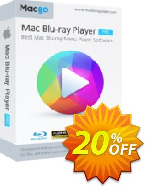 Macgo Mac Blu-ray Player Coupon, discount Special Offer for Affiliate. Promotion: