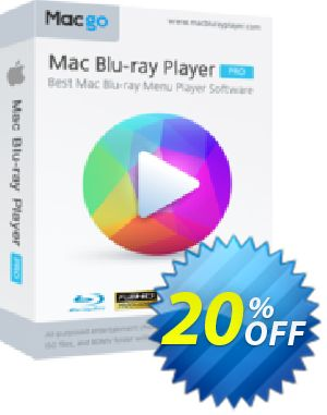 Macgo Mac Blu-ray Player Pro Coupon discount Special Offer for Affiliate. Promotion: