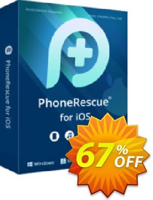 Get PhoneRescue for Windows - family license 67% OFF coupon code