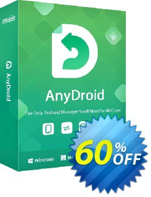 AnyTrans for Android 1 year license discount coupon 50% OFF AnyTrans for Android 1 year license, verified - Super discount code of AnyTrans for Android 1 year license, tested & approved