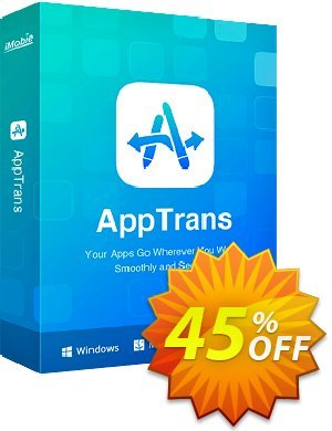 AppTrans for Mac Lifetime Coupon, discount 70% OFF AppTrans for Windows Lifetime, verified. Promotion: Super discount code of AppTrans for Windows Lifetime, tested & approved