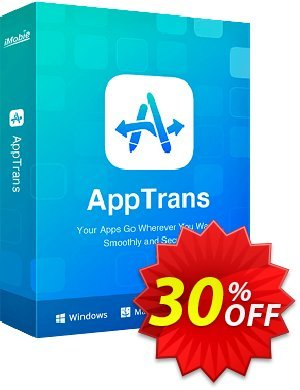 AppTrans Pack Coupon, discount 30% OFF AppTrans Pack, verified. Promotion: Super discount code of AppTrans Pack, tested & approved