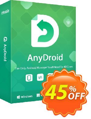 AnyTrans for Android - family license Coupon, discount AnyTrans for Android - family license Excellent deals code 2020. Promotion: staggering deals code of AnyTrans for Android - family license 2020